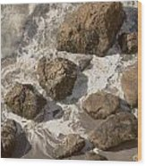 Tide Pools Of Shell Beach California Wood Print