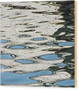 Tide Pools On The Water Wood Print