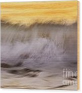 Tides Wood Print