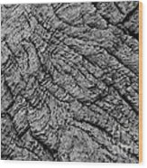 Tidewood Texture - Bw - Wonderwood Collection - Olympic Peninsula Wa Wood Print