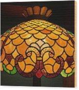 Tiffany Lamp Wood Print