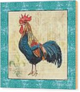 Tiffany Rooster 2 Wood Print