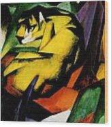 Tiger 1912 Wood Print