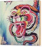 Tiger Snake Wood Print