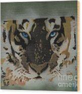 Tigerrr Wood Print