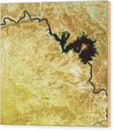 Tigris River Iraq Wood Print