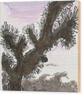 Tijuana Tree Wood Print