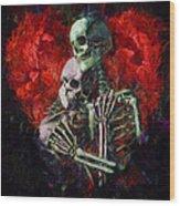 Til Death Wood Print by Christopher Lane