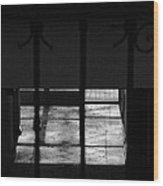 Tiles Floor Collecting Windows Lights Wood Print