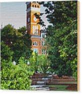 Tillman Hall Early Morning Wood Print