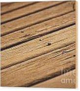 Timber Decking Wood Print