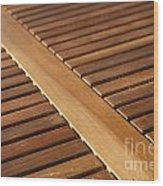 Timber Slats Wood Print