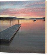 Timberloch Sunset Wood Print