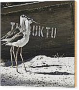 Timbuktu Two Wood Print