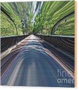 Time Bridge Wood Print