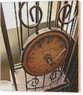 Time Feels So Vast Wood Print