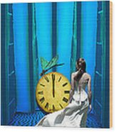 Time Fly Wood Print