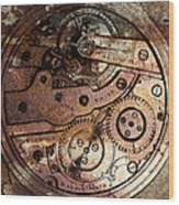 Time In Abstract 20130605rust Square Wood Print by Wingsdomain Art and Photography