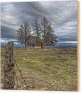 Time Stood Still Wood Print by Loree Johnson