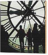 Time Travelers Wood Print