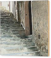 Time-worn Passage Wood Print