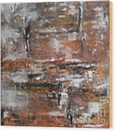 Timeless - Abstract Painting Wood Print