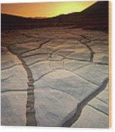 Timeless Death Valley Wood Print