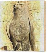 Timeless Horus Wood Print