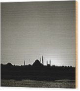 Timeless Istanbul Wood Print