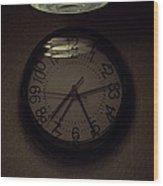 Time's Callous Imprecision Wood Print
