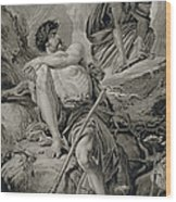 Timon And Apemantus, From Timon Wood Print