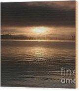 Timothy Lake Mysterious Sunrise 2 Wood Print