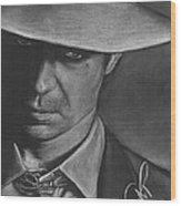 Timothy Olyphant 2 Wood Print