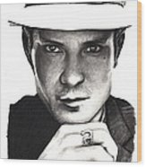 Timothy Olyphant Wood Print