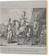 Timur Lenk (variously Spelt)  Asiatic Wood Print