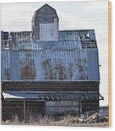 Tin Grainery Wood Print