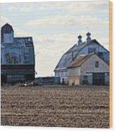 Tin Roof Farm Wood Print