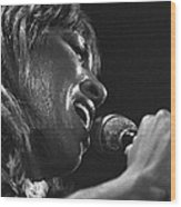 Tina Turner 1 Wood Print