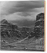 Tinajani Canyon Near Puno Peru Wood Print