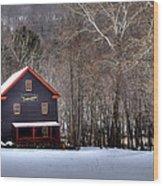 Tinglers Mill Paint Bank Wood Print