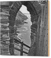 Tintagel Portal 1 Wood Print