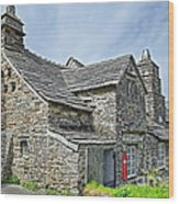 Tintagel Post Office  Wood Print