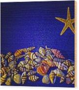 Tiny Sea Shells Wood Print