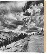 Tioga Pass Wood Print