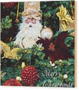 Tis The Season - Seasonal Art Wood Print