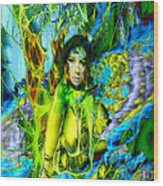 Titania-midsummers Night Dream Wood Print