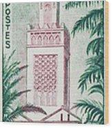 Tlemcen Great Mosque Wood Print