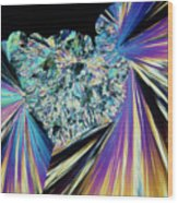 Tnt Explosive Crystals Wood Print