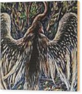 To Fly Wood Print