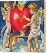 To My Valentine Wood Print